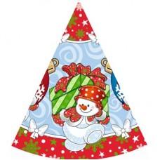 Колпаки НГ Снеговик с подарками