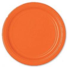 Тарелка Оранжевый Апельсин, 8 штук