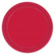 Тарелки Красное Яблоко, 17 см, 8 штук