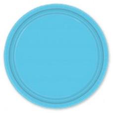 Тарелки Голубые Карибы, 17 см, 8 штук