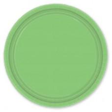 Тарелки зеленые Киви, 8 штук