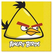 Салфетка Angry Birds, 33 см, 16 штук