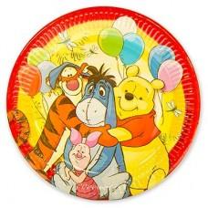Тарелки большие Винни Пух и друзья, 8 шт