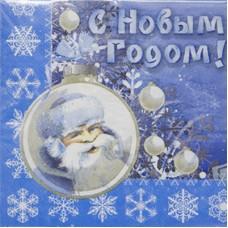 Салфетки НГ Зимняя Сказка, 33 см, 12 шт