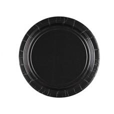Тарелка Jet Black 17см 8шт
