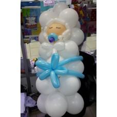 Малыш из шаров