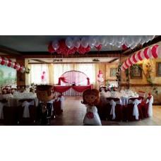 Свадьба, оформление шарами 3