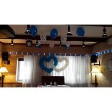 Свадьба, оформление шарами 9