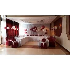 Свадьба, оформление шарами 10