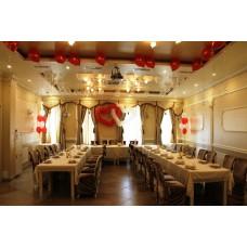 Свадьба, оформление шарами 2